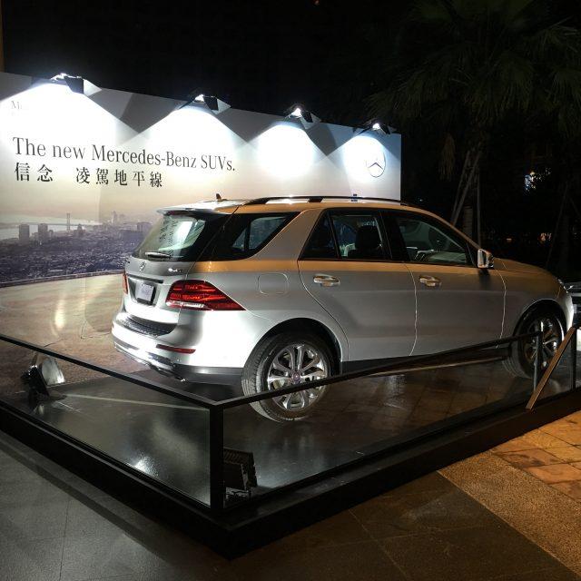 2016 台南晶英酒店賓士車展台